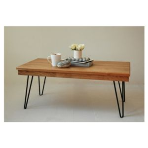 Harry Coffee Table With Hairpin Legs - furniture