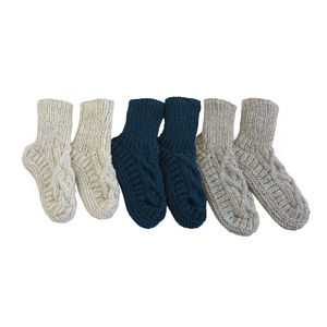 Jana Knit Slipper Socks - shoes & boots