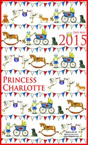 Princess Charlotte Tea Towel - kitchen