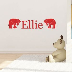 Nellie Personalised Wall Sticker