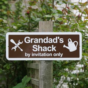 Personalised Men's Fun Signs - decorative accessories