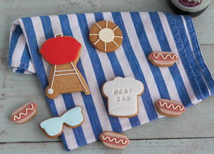 Summer Bbq Biscuit Gift Set - gifts to eat & drink