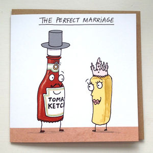 'The Perfect Marriage' Card