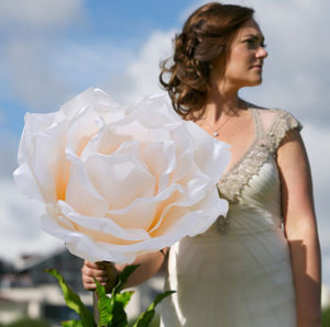 Giant Rose Prop - artificial flowers