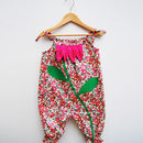 Liberty Floral Baby Girls Flower Romper