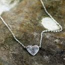 'Always In My Heart' Silver Necklace