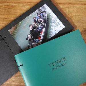 Personalised Leather Holiday Photo Album