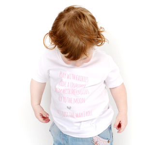 'Play With Fairies Ride A Unicorn' T Shirt