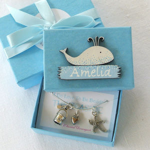 Personalised Sea Charm Necklace