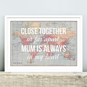 Personalised Mum Print - posters & prints