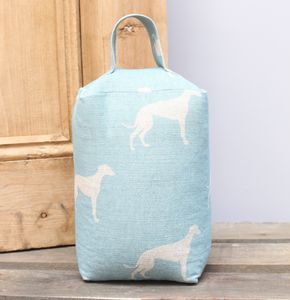 Curtis The Greyhound Doorstop - door stops