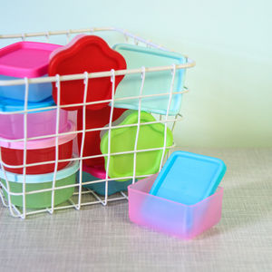 Set Of Mini Food Storage Boxes - picnics & barbecues
