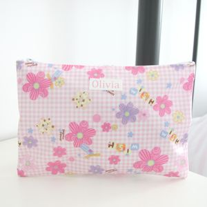 Girls Personalised Sleepover Wash Bag