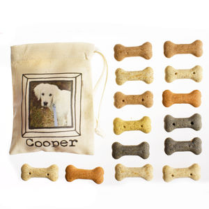 Personalised Dog Treat Bag - dog treats & food