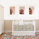 Set Of Three London Nursery Art Prints