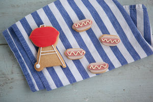 Mini Bbq Biscuit Gift Set - biscuits and cookies