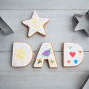 Star Dad Cookie Cutter Set