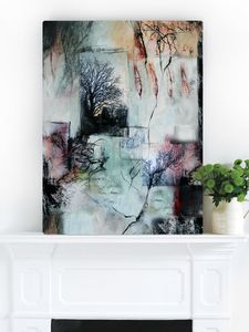 Story Teller, Canvas Art - nature & landscape