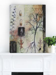 Under An Acorn Tree, Canvas Art - canvas prints & art
