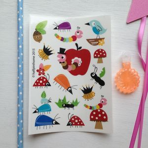 Children's Bug Temporary Tattoos - fancy dress