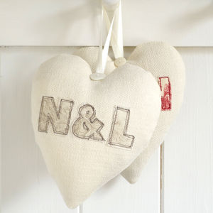 Personalised Couples Initials Heart
