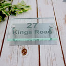 Personalised Acrylic And Stainless House Sign