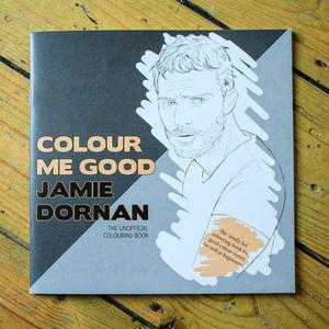 Jamie Dornan Colouring Book By Colour Me Good