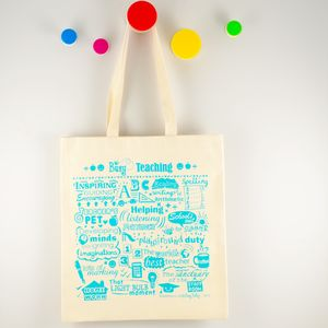 'Busy Teaching' Shopping Bag