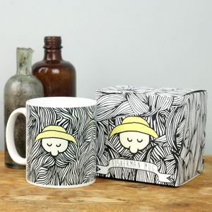 Bearded Fisherman Mug With Box - kitchen