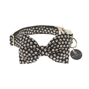 Walkies Bow Tie Dog Collar