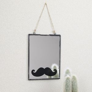 Hanging Moustache Mirror - dining room