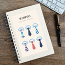 Personalised Thank You Teacher Notebook For Men