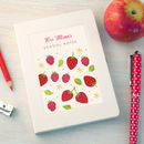 Personalised Floral Thank You Teacher Notebook