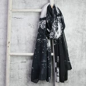 Tree Silhouette Scarf - our black friday sale picks