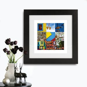 Personalised Framed Photo Prints - children's room