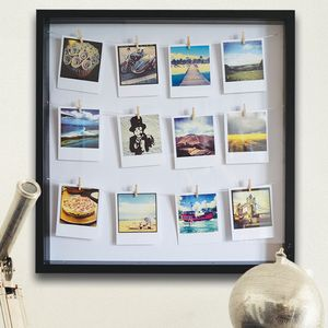 Personalised Photo Peg Frame - picture frames