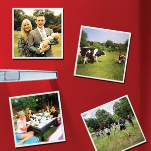 Personalised Tear And Share Photo Magnets - unusual favours