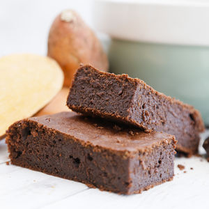 Chocolate Brownies With Sweet Potato - sweet treats