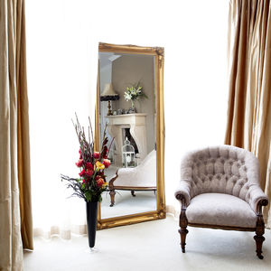 Simple Classic French Gold Mirror - mirrors