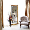 Simple Classic French Gold Mirror