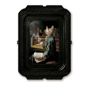 Galerie De Portraits Rectangular Tray Lazy Victoire - trays