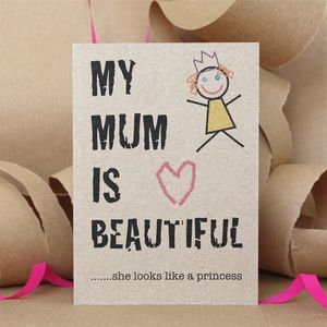 Mum Card - shop by category