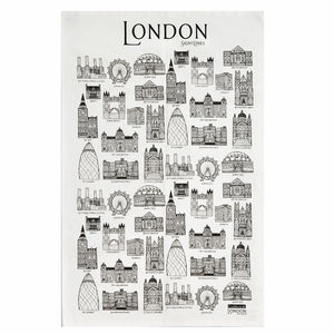 Sightlines London Tea Towel - kitchen linen