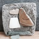 Boat Mosaics Made With Gatherings From The Seashore
