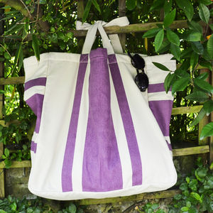 Beach Bag With Coordinate Beauty Bag