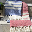 Istambul Cotton Sofa Throw