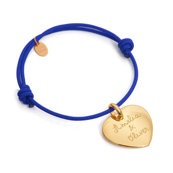 Mother's Personalised Heart Charm Bracelet