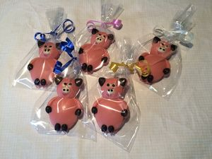 Chocolate Pig Wedding And Party Favours - wedding favours