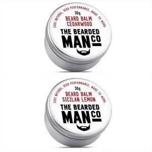 Set Of Two Beard Balms