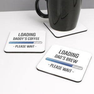 Personalised Loading Coaster - dining room